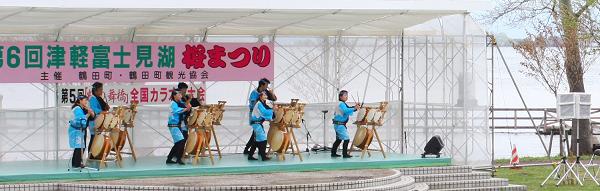 鶴の舞橋桜まつり