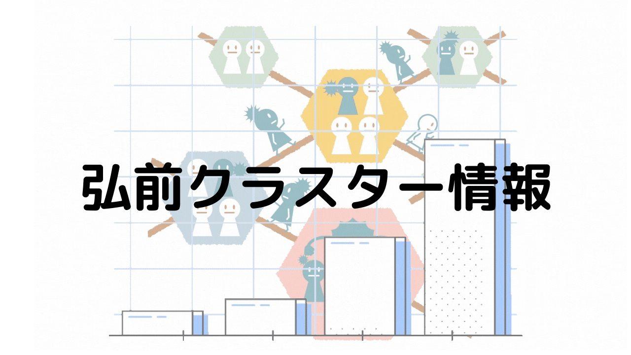 弘前クラスター(弘愛会・飲食店「シャモン」)情報