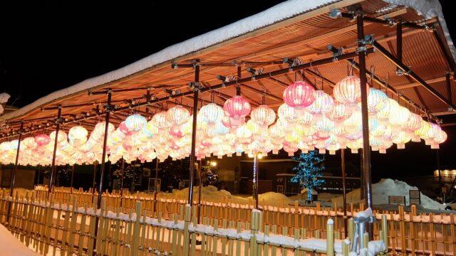 ひらかわイルミネーションプロムナード 2020-2021 台湾提灯
